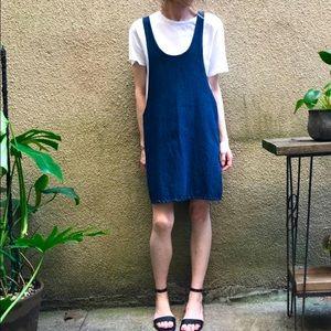 Farrow Denim Overall Tunic Dress